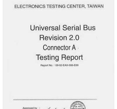 USB testing report
