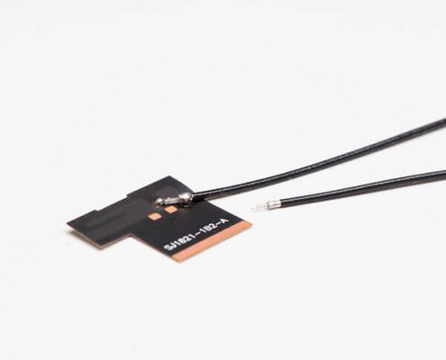 Wifi Antennas 2.4G FPC antenna plate Solder RF1.13 Black Coax Cable+TD